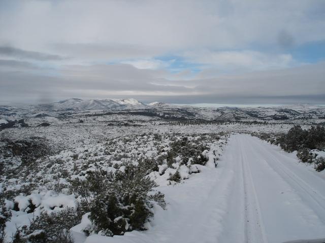 La nieve en Inglaterra y Escocia - Reportajes de